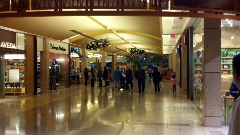 Hallway To Food Court At Shops At Willowbend January C