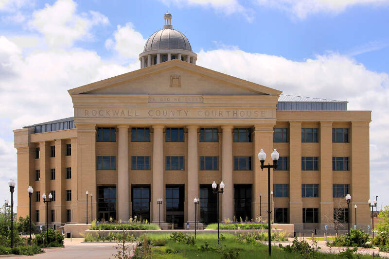 Rockwall County Tx Courthouse