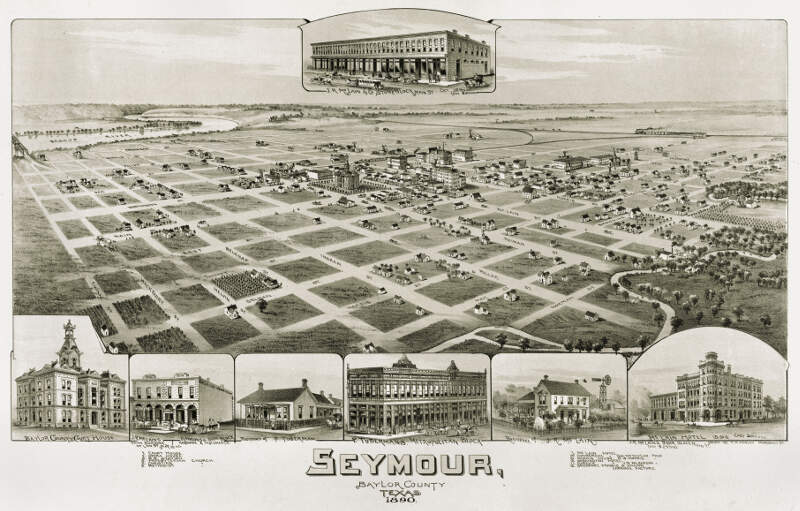 Old Map Seymour