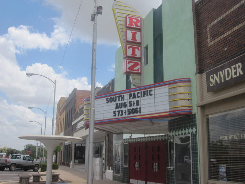 Ritz Theater In Downtown Snyder Img
