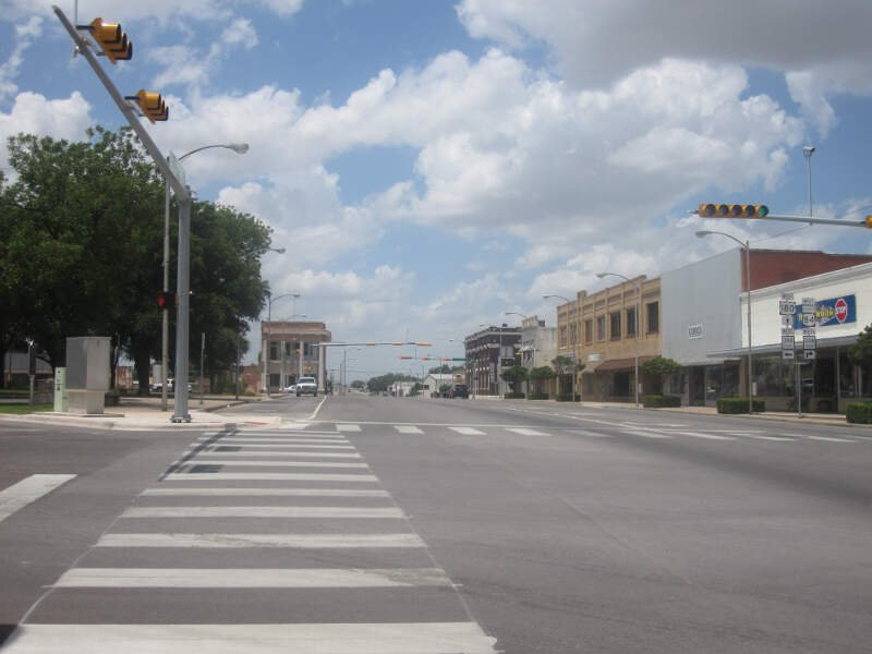 Downtown Snyderc Tx Img