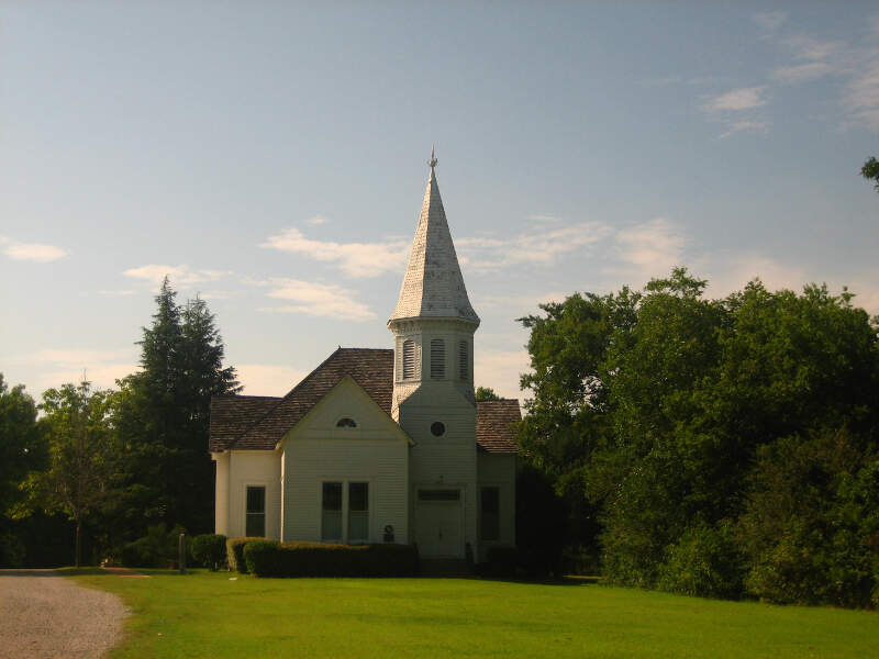 Presbyterian Church At Stephenvillec Txc Museum Picture