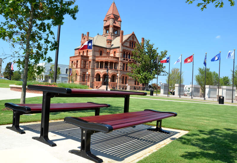Ss Courthouse Bench
