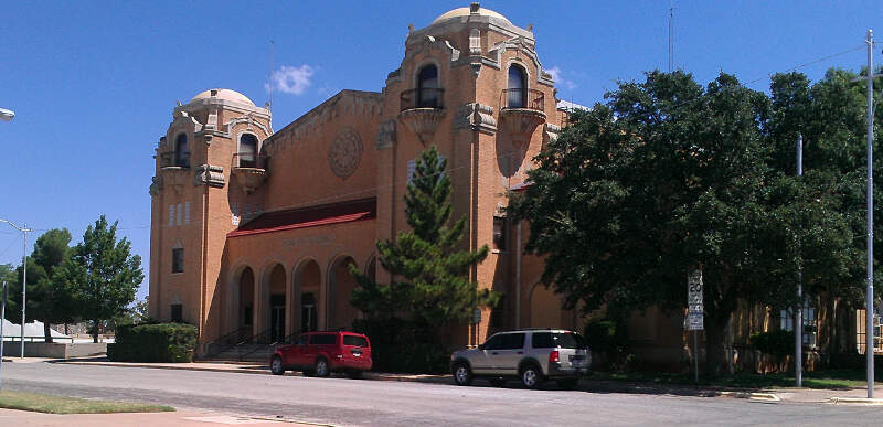 Sweetwater Texas Municipal Building