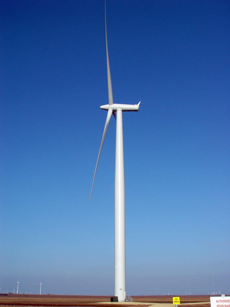 Wind Turbine Sweetwater Texas Daf O