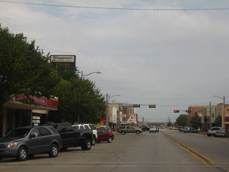 Downtown Vernonc Tx Picture