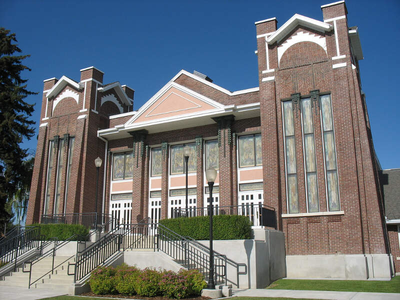 Garland Tabernacle Of The Lds Church