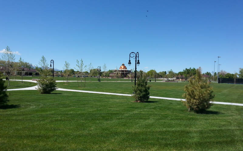 Riverton City Park In Riverton Utah