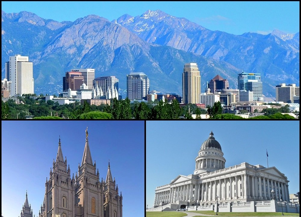 Salt Lake City Montage  July