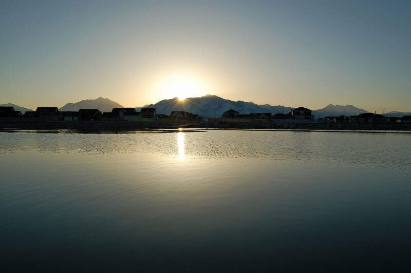 Oquirrh Lake At Sunrise