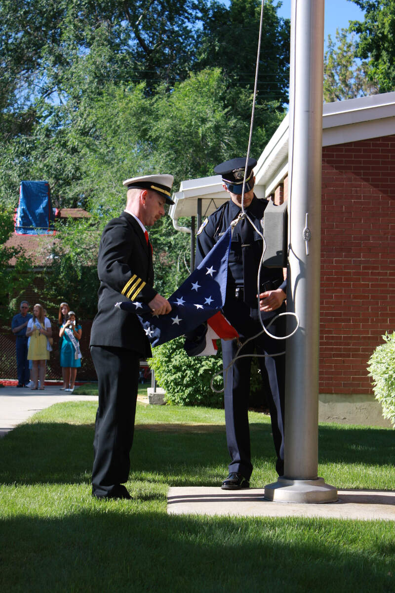 City Of South Salt Lake Police And Fire Honor Guard