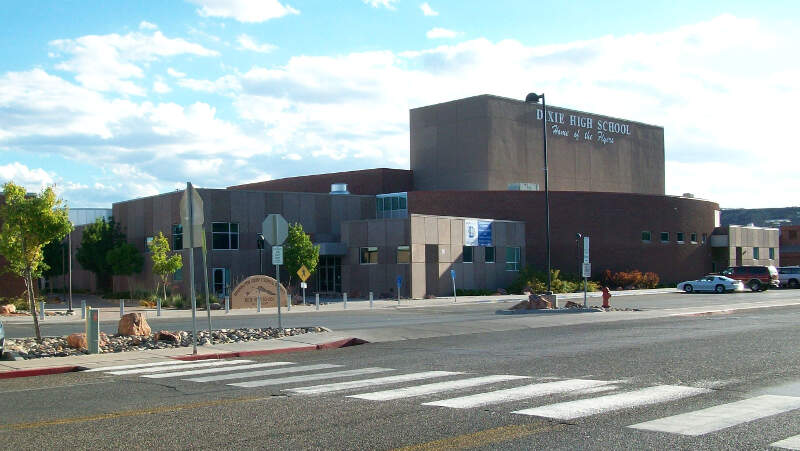 Dixie High Schoolc St Georgec Utah