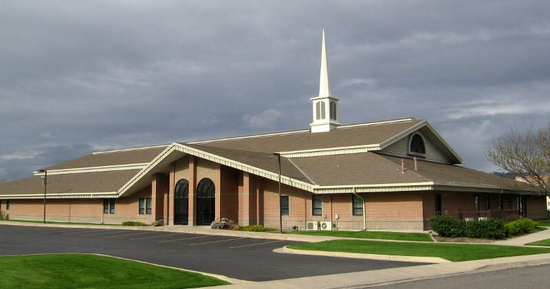 Lds Stake Center In West Valley Cityc Utah Cropped