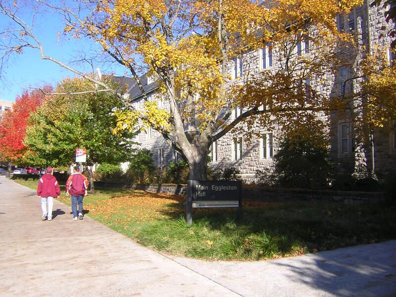 Virginia Tech Main Eggleston Hall