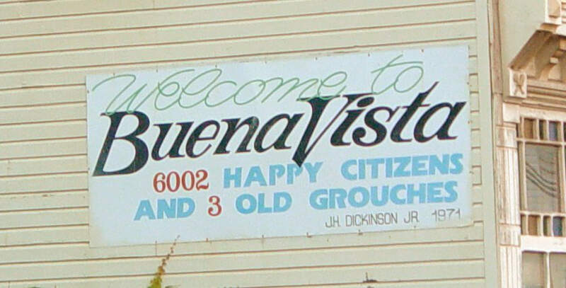 Buena Vista Sign