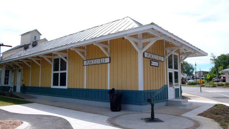 Purcellville Va Train Station