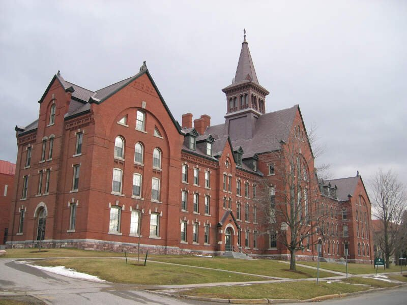 Uvm Old Mill Building