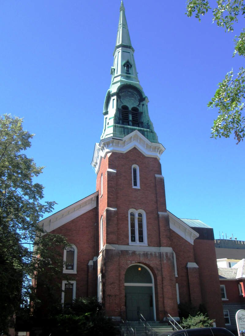 First Baptist Church Burlington Vermont