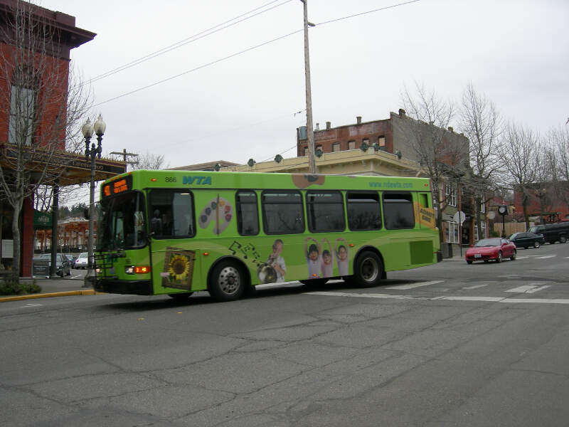 Whatcom Transit Bus