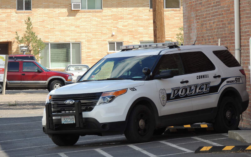 New Connell Wa Police Ride
