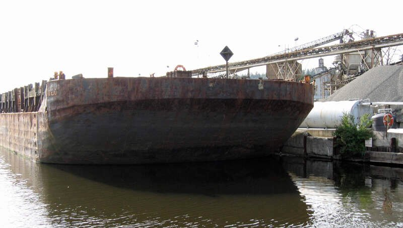 Cement Barge Kenmore