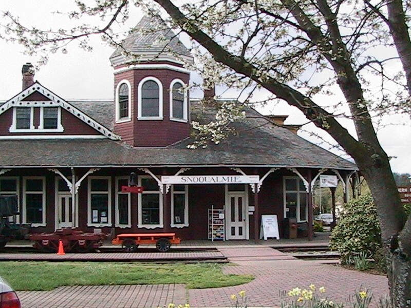 Snoqualmie Depot April