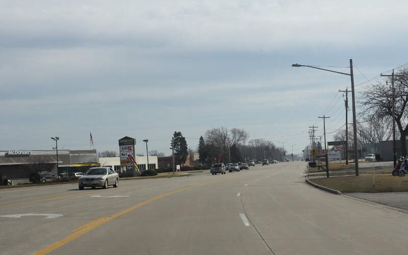 Caledonia Wisconsin Wis At  Mile Road