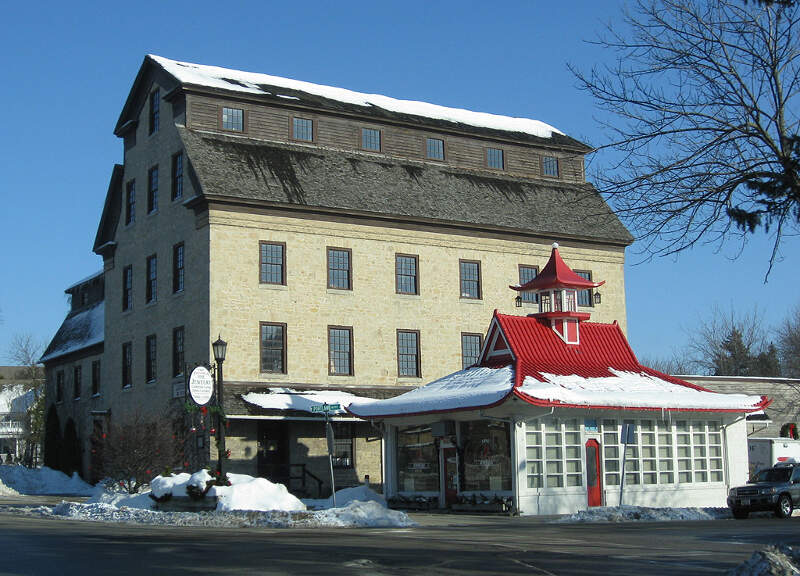 Cedarburg Mill Pagoda
