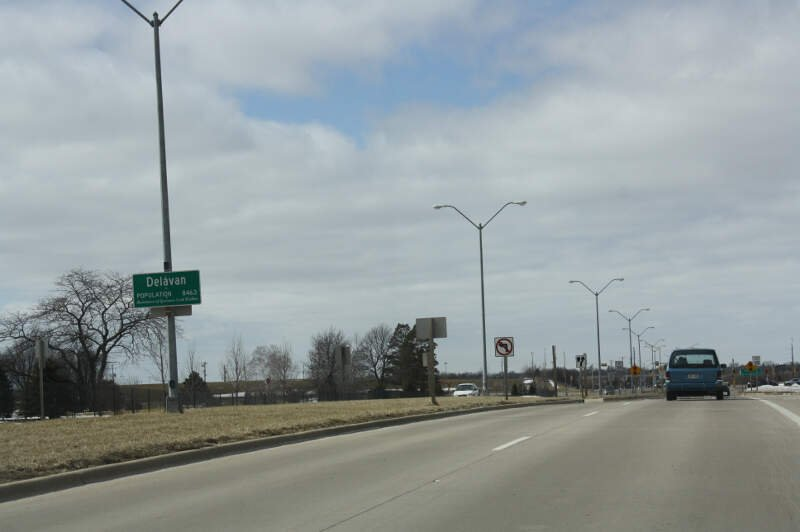 Delavan Wisconsin Sign Wis