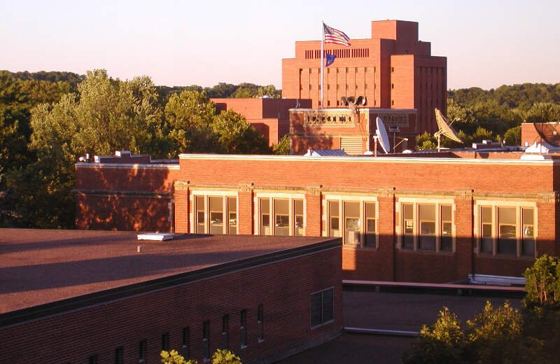 Eau Claire Wisconsin Uwec Looking Northeast