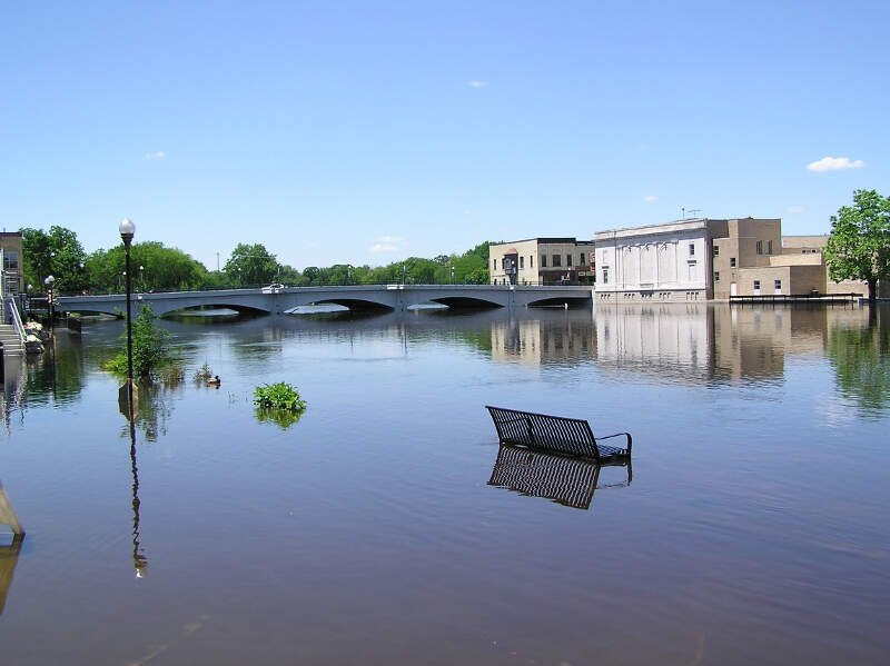 Rock River Flood Ftatkinson