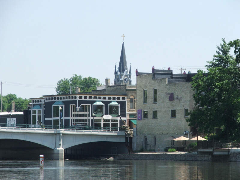 Fort Atkinson From Rock River