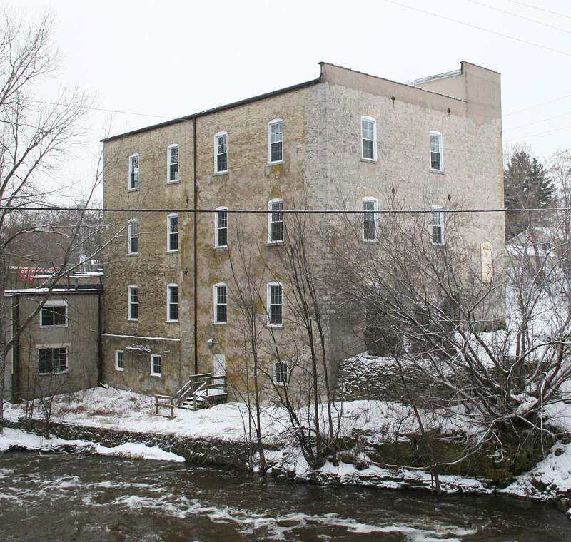 Grafton Flour Mill Back Dec