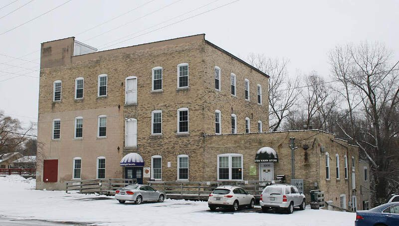 Grafton Flour Mill Front Dec
