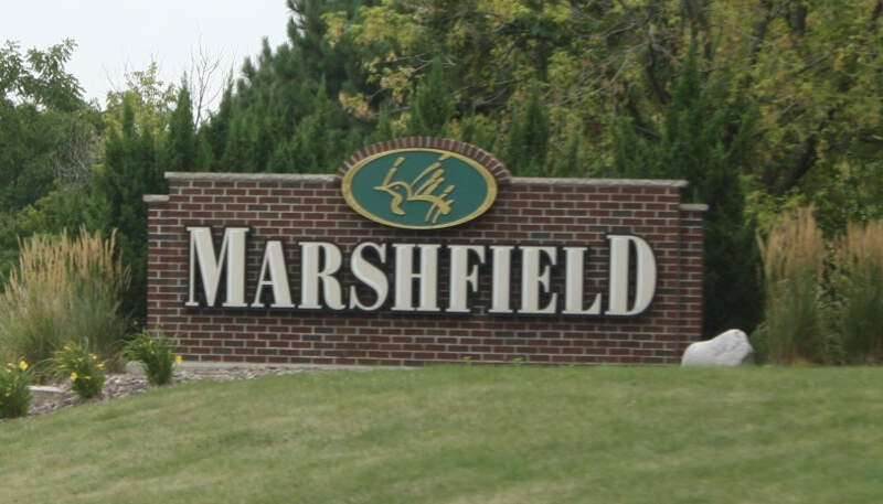 Marshfield Wisconsin Welcome Sign