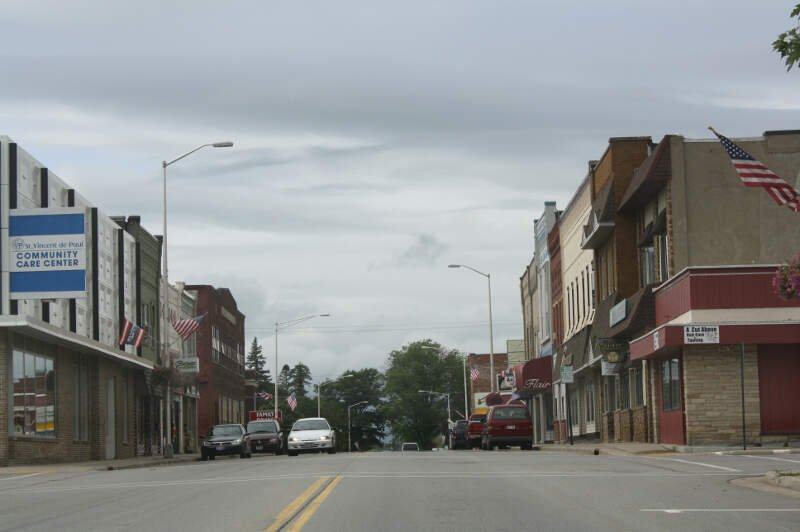 Merrill Wisconsin Downtown West Westside Wis