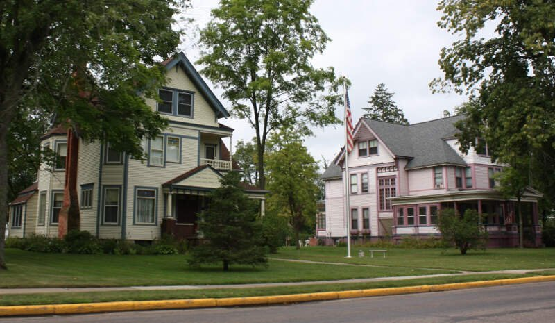 Center Avenue Historic District Merrill Wisconsin