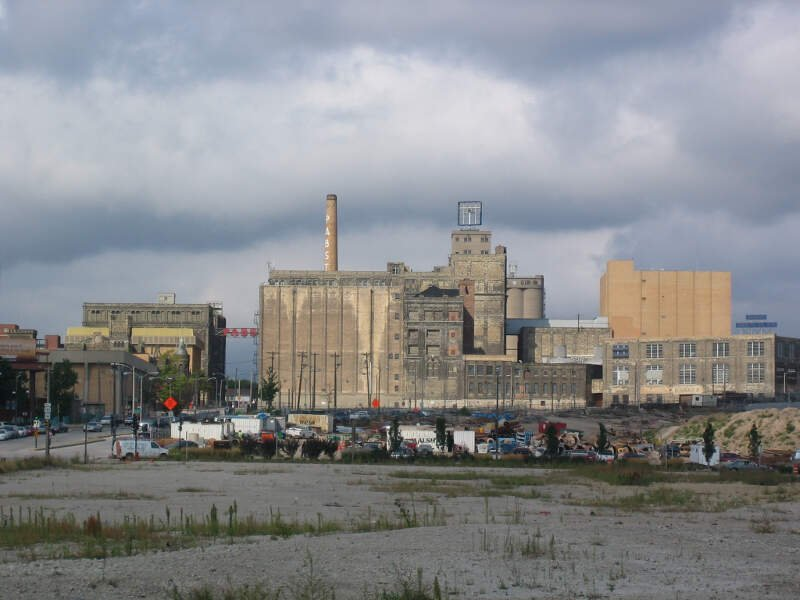 Former Brewery Pabst Brewing Company In Milwaukee Wisconsin