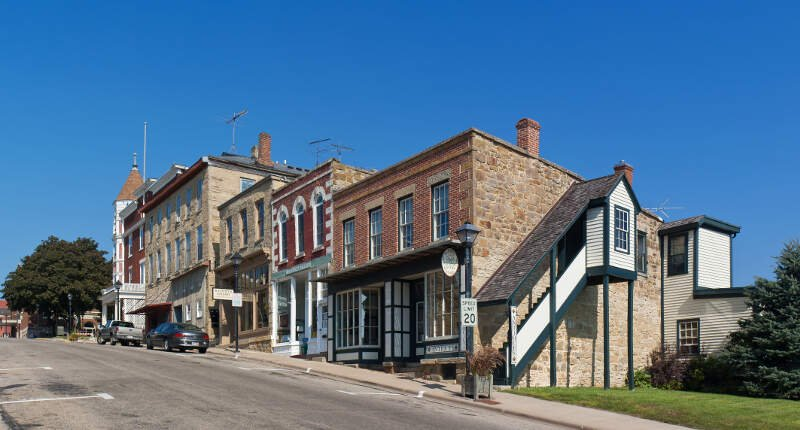 Mineral Point High Street
