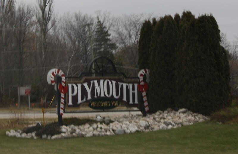 Plymouthwisconsinwelcomesignwis