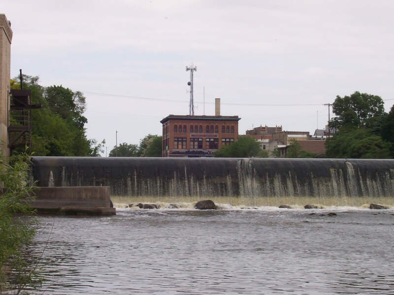 Fischers Building And Dam