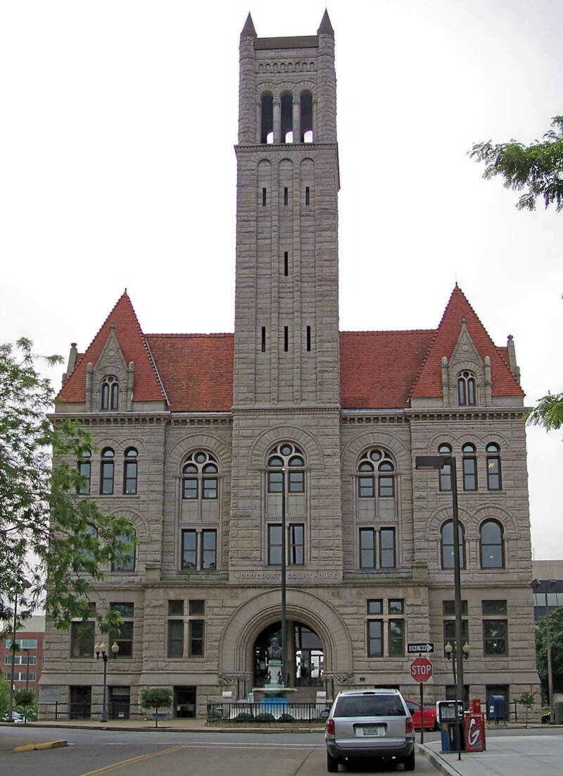Wood County Courthouse Parkersburg West Virginia