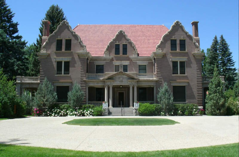 Trail End State Historic Site Aka Kendrick Mansion Sheridan Wy